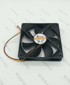 for FD121225HB Big Air Cooling Fan DC 12V 0.46A 2600RPM 12025 120*120*25mm 3 Wires Free shipping