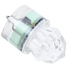 Глубинный светодиодный светильник для подводной ловли кальмаров, приманки, алмазные лампы глубокого падения, основной цвет: зеленый