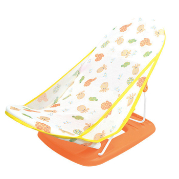 Anti Skid Baby Bather and Folding Baby Bath Seat with Detachable Surface for Newborn