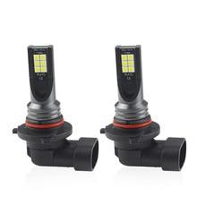 2Pcs H1/H3/H4/H7/H8/H11/9005/9006 3030 12 SMD Car Led Fog Light Bulbs 24W Lamp headlight headlamp 6500K 12V h1 led bulbs