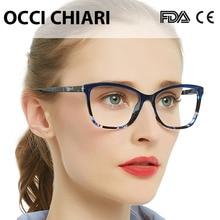 OCCI CHIAR Мультифокальные очки для чтения с голубым лучем женские очки с диоптриями модные очки для чтения+ 1,0+ 1,5+ 2,0+ 2,5+ 3,0+ 3,5