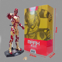 New In Box Hot Toys Iron Man Mark XLII MK42 with LED Light 1/6th Scale Collectible Figure Model Toy