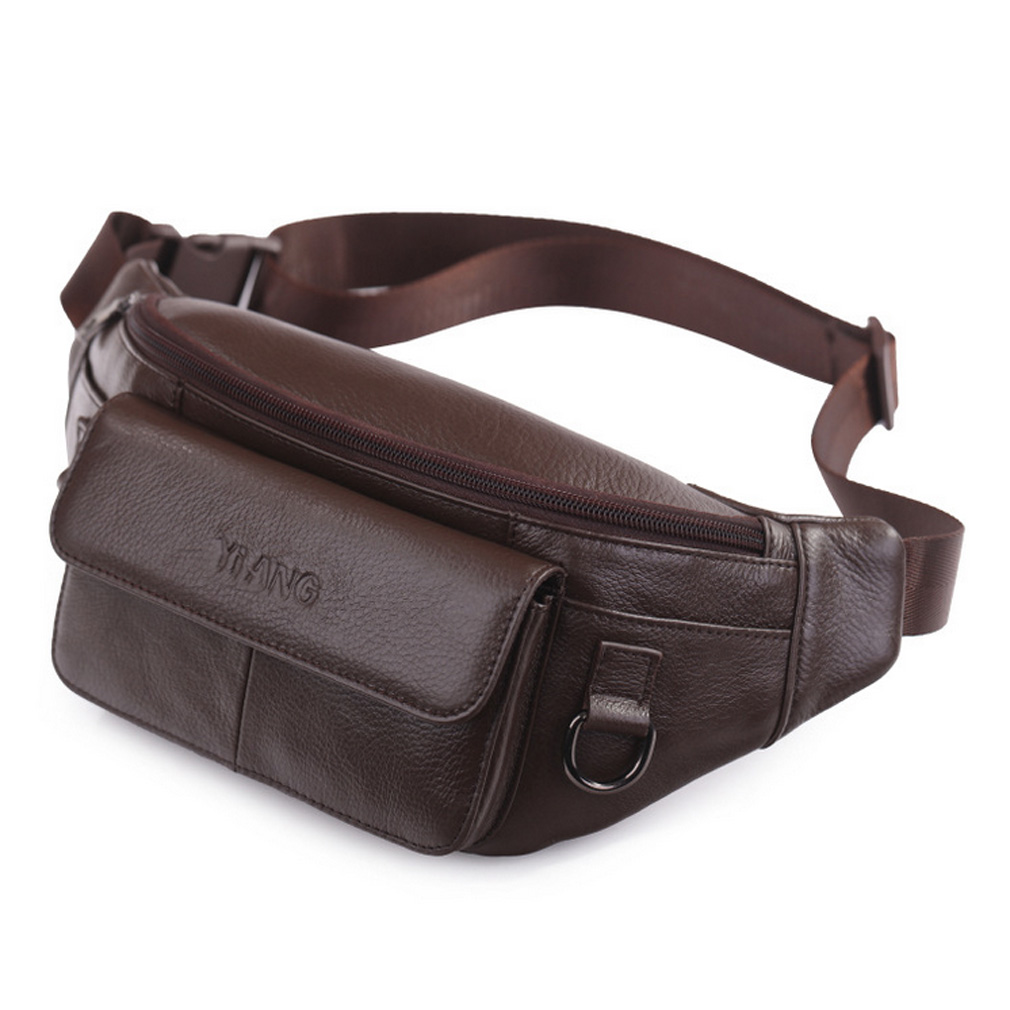leather-waist-bag-for-men-women-fanny-pack-travel-outdoors-hiking-running-hip-bum-belt-slim-pack-purse-wallet-cell-phone-pouch