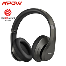 Mpow H20 059 Updated Version Bluetooth 5.0 30h Playing Time Hi Fi Deep Bass Wieless Headphones CVC 8.0 Microphone For Smarphones