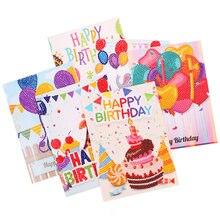 Moge 5d diy cartões de pintura diamante pintura diamante cartão de aniversário diamante bordado cartões de convite cartões de pintura diamante conjunto