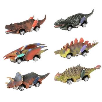 Samochody wycofać dinozaur samochody zabawkowe na prezenty dla dzieci wycofać samochodziki zabawkowe dla 3-9 lat chłopcy dinozaury samochody świąteczne prezenty tanie i dobre opinie Z tworzywa sztucznego Naciągane Do not eat Unisex Kids Clockwork Wind Up Hopping Toy Chick Christmas Stocking Filler Ani