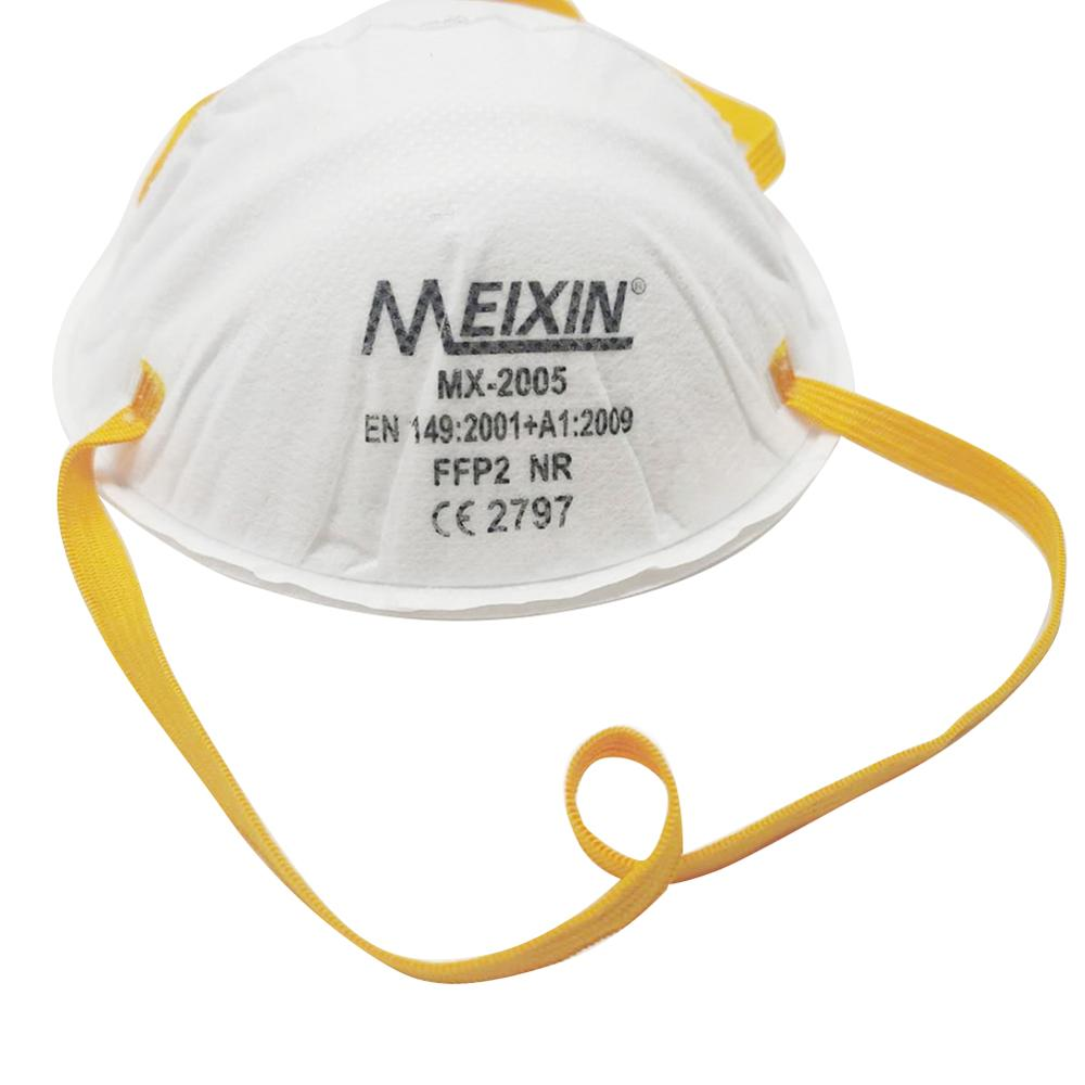 10pcs FFP2 Mask Air Valve Mouth Face Gas Maska Conora Masks Against Flu Influenza PM2.5 Prevention Filtration