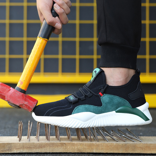 Dropshipping Men Women Work Shoes Steel