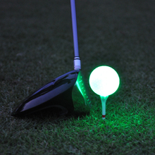 Buy Synthetic Rubber Golf LED Luminous Ball Often Bright Ball Suitable For Night Use Multi-color Optional Wholesale directly from merchant!