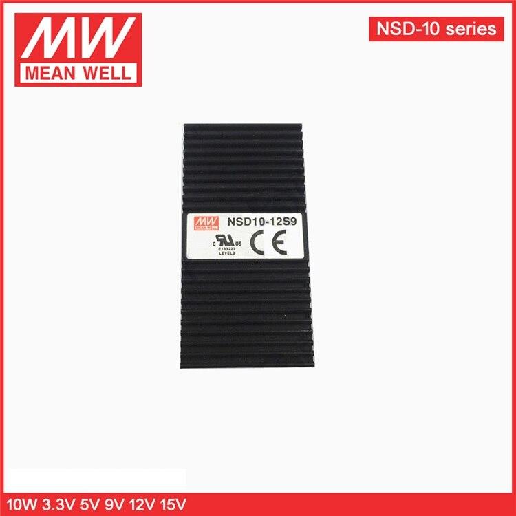 MEAN WELL NSD10 Series DC-5V 5V -12V 12V -15V 15V 10W Buit-in Remote ON/OFF DC-DC Регулируемый одиночный выходной преобразователь