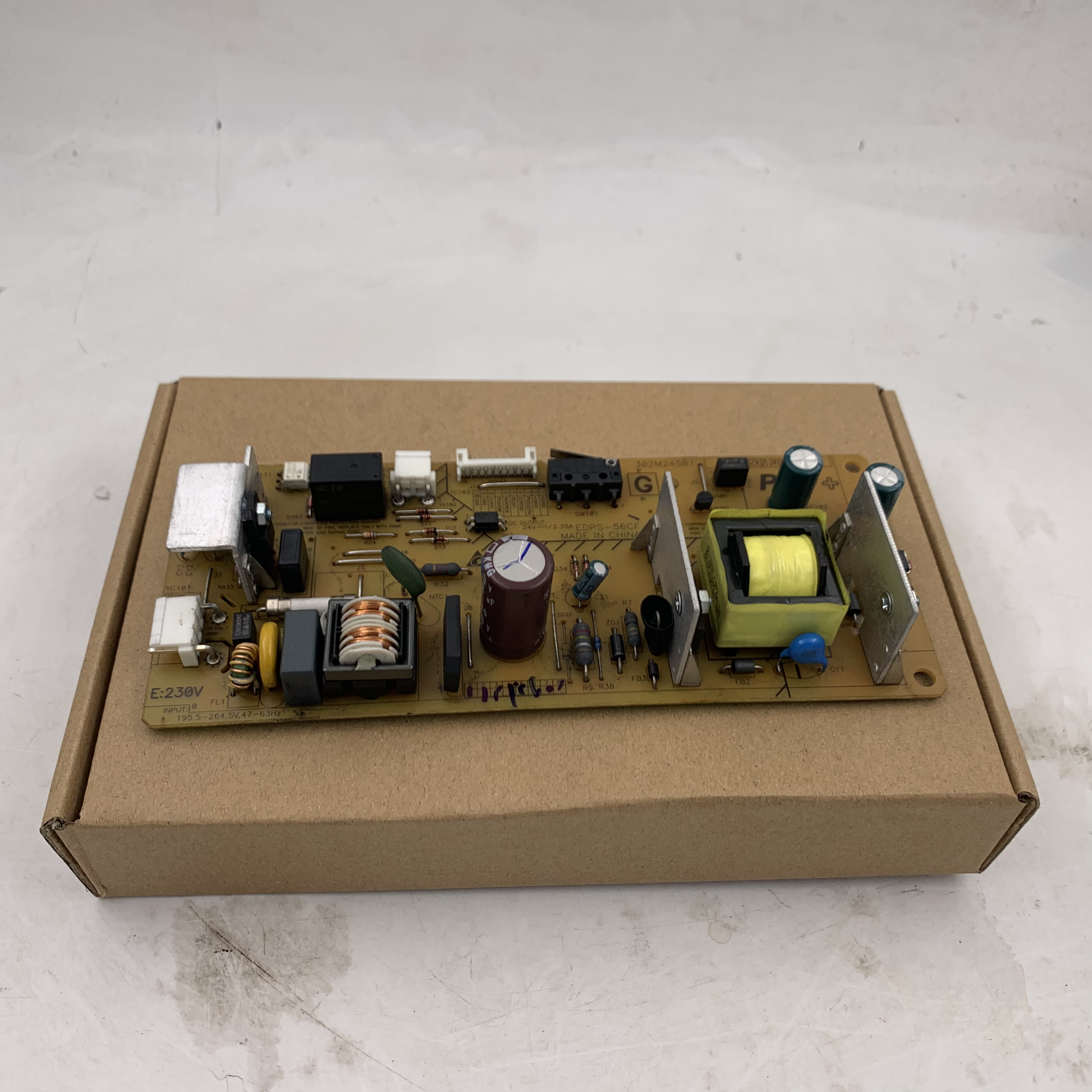 Power Board / Parts Switching Regulator For <font><b>Kyocera</b></font> <font><b>FS</b></font> 1020MFP 1025MFP 1120MFP <font><b>1125MFP</b></font> 1220MFP 1320MFP 1325MFP 1040 1041 1060Dn image
