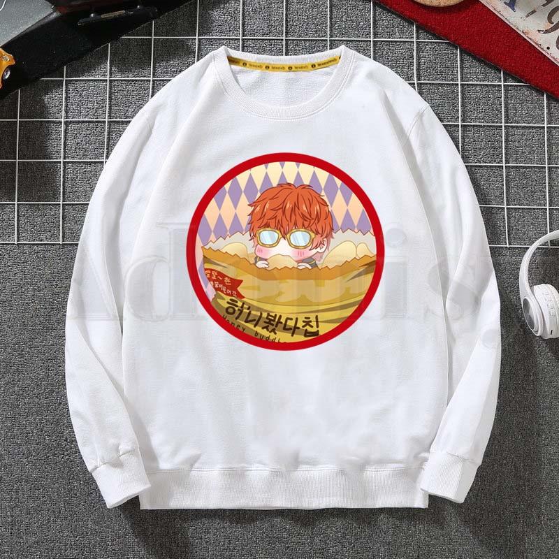 Mystic Messenger Hot Game Classic Print Men Women Hooded Hoodie Sweatshirt Fashion Graphic Hoodie Casual Streetwear Hoodie