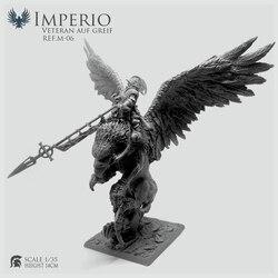 Фигурка из смолы Gamezone Griffin Knight высота 14 см Незакрепленная (не для начинающих) REF.M-06