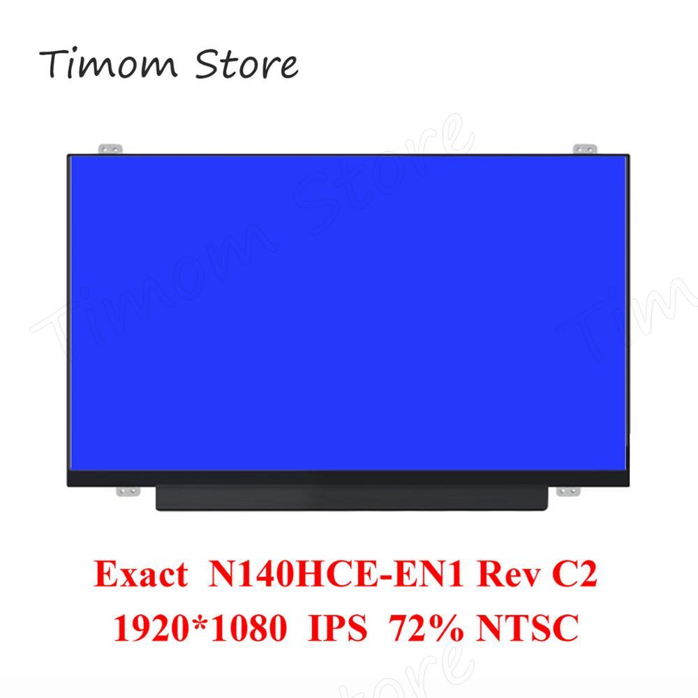 N140HCE-EN1 Rev.C2 C4 точный оригинальный Innolux для ноутбука Lenovo 14,0