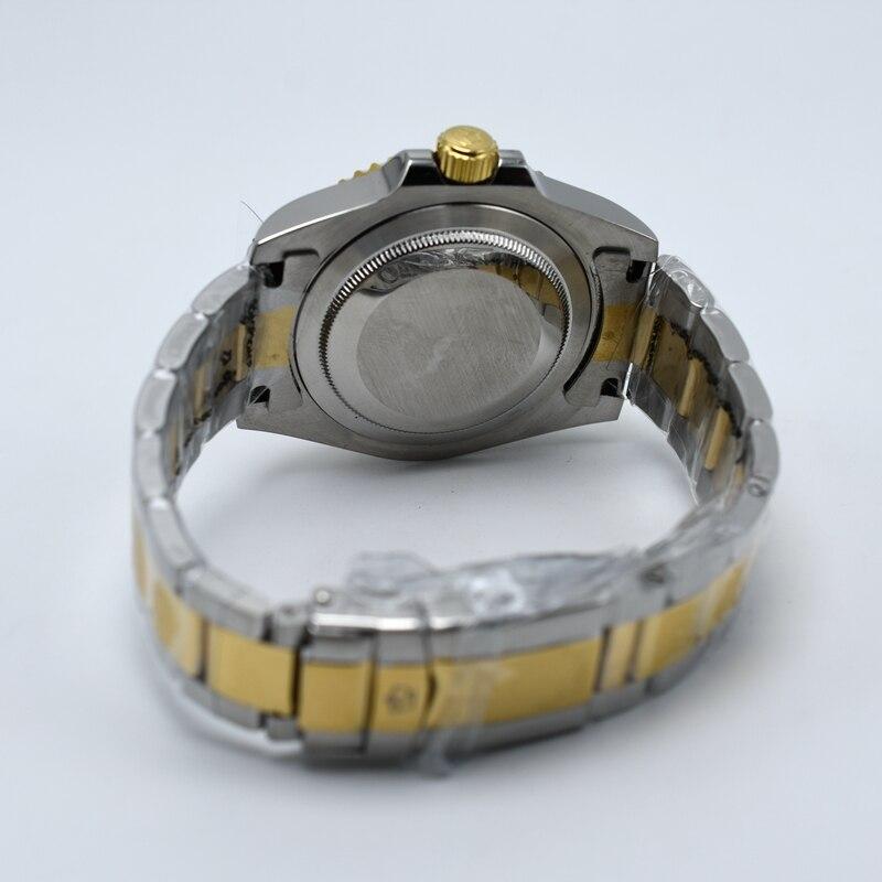 Hdd852b8e4e3841d18b982c76f083756cS Ceramic bezel luminous mechanical automatic men watches top brand luxury PETER LEE daydate stainless steel men hand wind watch