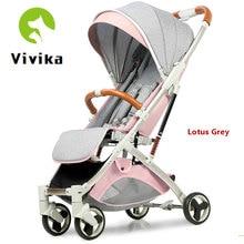 Детская коляска с одной рукой, детская коляска может сидеть и лежать, может высадиться на самолет и является зонтиком из алюминиевого сплава, детская коляска