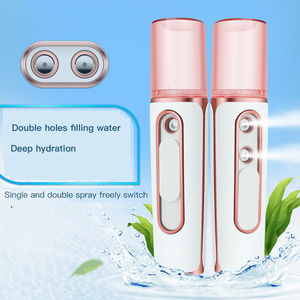 Image 3 - Facial Humidifier Portable Wireless Rechargeable 2 in 1 Power Bank Handheled Face Diffuser For Nano Sprayer Face Care Mist Maker