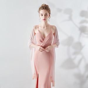Image 4 - Janevini 우아한 여름 짧은 신부 쉬폰 케이프 shawls 여성 shrug 볼레로 랩 레이스 applique 페르시 웨딩 파티 액세서리