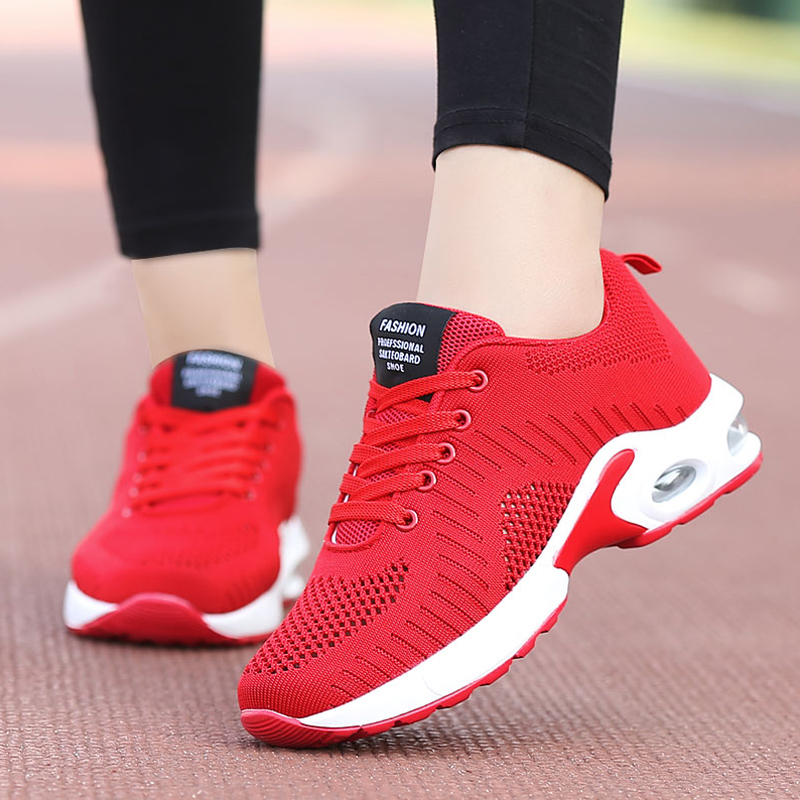 Brand Tenis Feminino 2019 New Autumn Women Tennis Shoes Comfort Sport Shoes Women Fitness Sneakers Athletic Shoes Gym Footwear