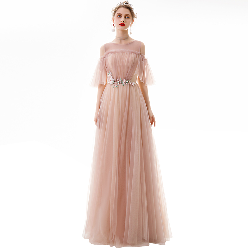 Pink  Special Occasions Dress   Quinceanera Dresses  Strapless Cute Sweet Lovely Party Dress For Show