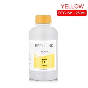 Image 5 - 250ML/Set DTG Ink Textile InK Garment Ink For Epson DX5 DX7 R330 1390 1400 R1900 R2000 F2000 F2100 (BK C M Y White Pretreatment)