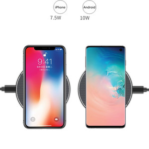 Image 4 - 10W Induction Charger Fast Qi Wireless Charger Pad Without Wired Charging Mat For Xiaomi Mi9 t Samsung S10 iPhone 11 Huawei P30