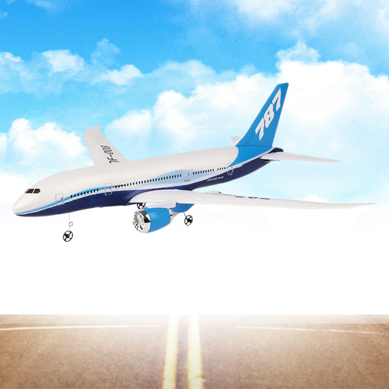 Diy Epp Rc Drone Boeing 787 B787 Airplane Drone Plane Model Airplane Fixed Wing Plane Kids Gifts