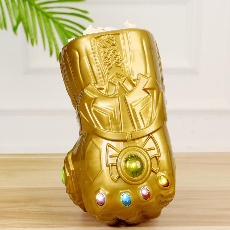 Marvel Aavengers 4 3 Thanos Ironman Spiderman figurine tasses 2020 Marvel Spiderman Thor eau tasse pop-corn baril jouets pour Funs