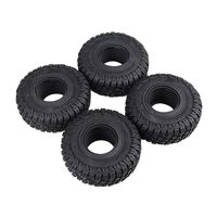 4PCS 118MM 1.9in Rubber Rocks Tyres Tires for 1:10 RC Rock Crawler Axial SCX10 90047 D90 D110 TF2 TRX 4 NEW