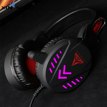 Gaming Headset Deep Bass Game Earphone Professional Computer Gamer Headphone With HD Microphone for Computer Laptop ep 16 headband style headphones game headset with hd microphone 3d stereo bass handsfree talking for computer laptop ipad pc