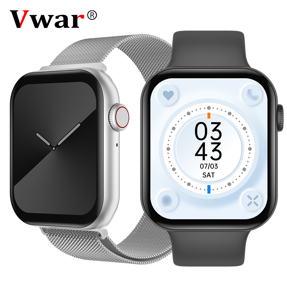 Vwar Bluetooth Call Smart watch with Encoder Button 1 78 Inch HD Screen Customd Dial FK78 smartwatch IWO K8 Max for IOS Android
