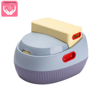 The New Potty Anti skid Multi function Stepped Toilet Baby Potty Child Toilet Potty Potty Training Portable Travel Potty
