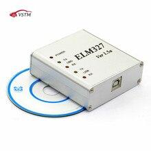 ELM327 USB Metall Aluminium ULME 327 Metall Fall V1.5/V 1,5 eine Unterstützung Alle OBD2 OBDII Protokolle Auto Auto diagnose Scanner