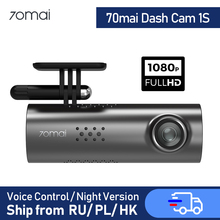 Car DVR Camera-Support Connect Dash-Cam WIFI 70mai Smart 1080P Wireless FOV 1S HD 30