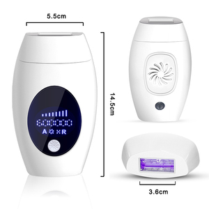 Image 5 - 600000 Flash Ipl Laser Hair Removal Machine Permanent LED Laser Epilator Precision Clipper For  Bikini,Body,Face,Underarm