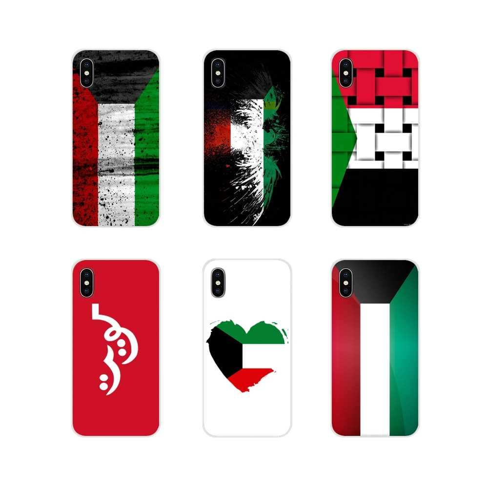 Accessories Phone Cases Covers For Motorola Moto X4 E4 E5 G5 G5S G6 Z Z2 Z3 G G2 G3 C Play Plus Customized Kuwait National Flag