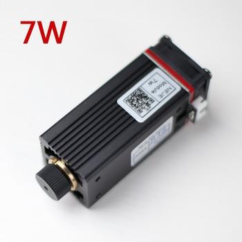 450nm Professional 7W Laser Engraving Module Blue Light With TTL / PWM Modulation For Laser Cutting Machine,CNC, DIY laser