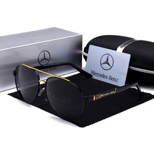 Foreign Trade New Style Mercedes 4S Shop Gift Wholesale Sun Glasses Benz Wholesa