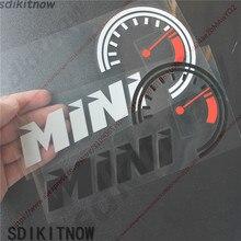 Автомобильный видеорегистратор борад наклейка Скорость Стикеры Стиль Спереди украшение лобового стекла для BMW MINI R56 R53 F56 R55 R50 R60 Cooper аксессуары