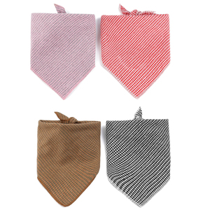 Houndstooth Dog Bandana Cotton
