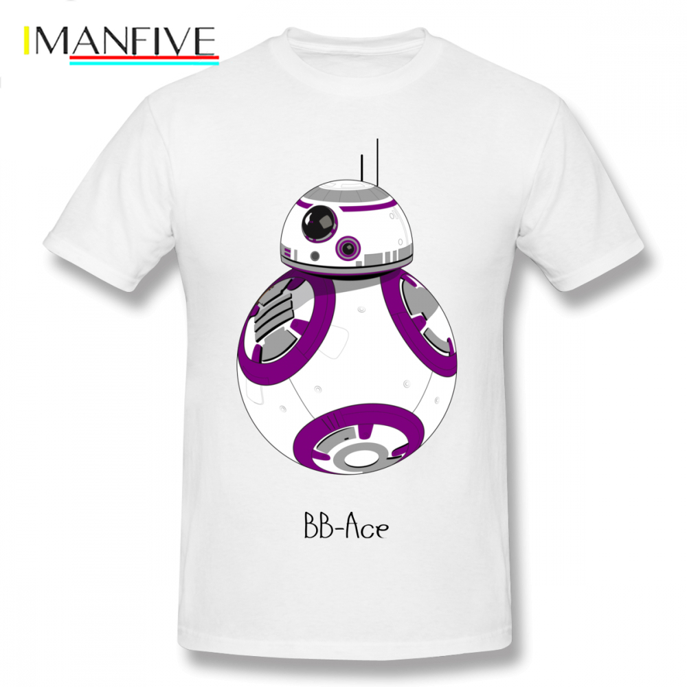 <font><b>Asexual</b></font> T Shirt BB Ace T-Shirt Printed Fun Tee Shirt 6xl Casual 100 Cotton Man Short Sleeves Tshirt image