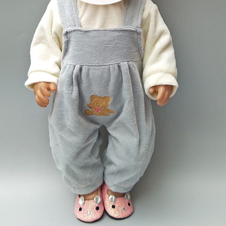 For 18 Inch  Doll Toys Coat Clothes Pants Cap For 18