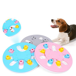 Dog Puzzle Toys Improve Intelligence Food Dispenser Interactive Pets Feeder Relieve Pressure For Small Medium Dogs Pet Supplies