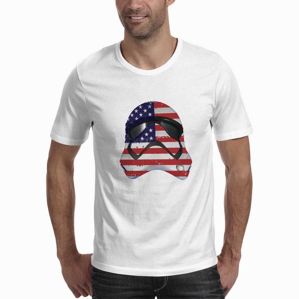 New Arrival fajne T Shirt śmieszne Star Wars kawy koszulka z nadrukiem męska z krótkim rękawem O-Neck Streetwear hip hop letnie topy Tee