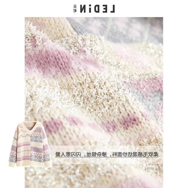 Ins/популярные корейские милые винтажные пуловеры с цветочным