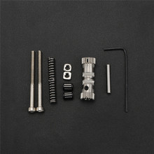 Double Gear Wheel Extruder Kit Extrusion Wheel with Spring for Prusa mk2/mk2.5/mk3 Bondtech 3D Print