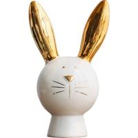 Nordic Style Luxurious Animal Statue Rabbit Piggy Bank Arts Sculpture Ceramic Crafts Creative Home Decoration Accessories R3052