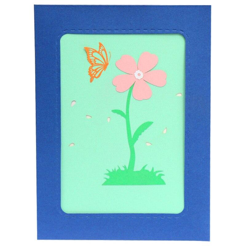 Carte papillon 3D et enveloppe-cartes de voeux uniques romantiques pour anniversaire, noël, nouvel an, anniversaire, saint valentin, mer