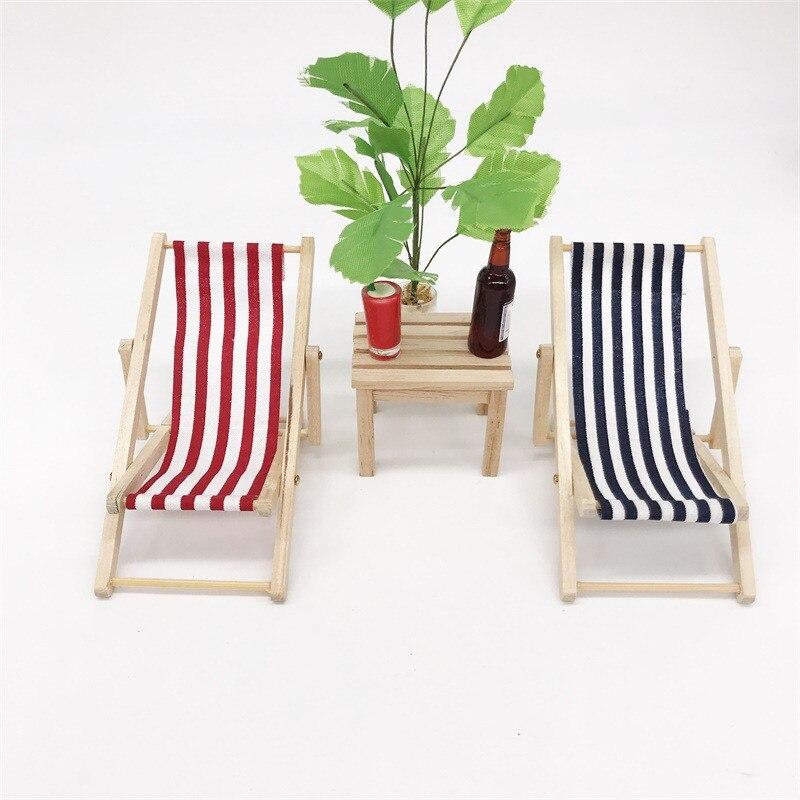 resin wooden stool Cartoon Micro Landscape Fairy Garden Figurine Dolls House TY