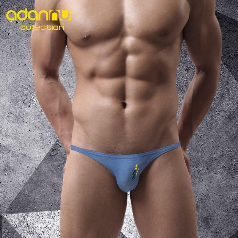 ADANNU Men Sexy Briefs Jockstrap Men's Underwear Pouch Cuecas Man Cotton Gay Slip Homme Srting Panties Thongs Mesh Underpants